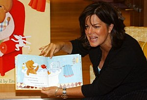 Marcia Gay Harden reads aloud, Getty Images