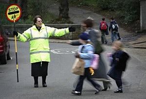 School crossing, Glasgow, Scotland, Christopher Furlong, Getty Images