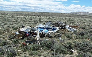 5.21 air crash site, Sweetwater County Sheriff's Office