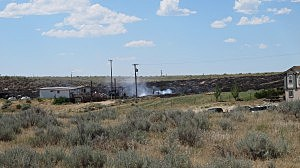 7.25 fire on Cole Creek Road, Daniel Sandoval, K2 Radio
