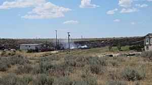 7.25 fire on Cole Creek Road, Daniel Sandoval, K2 Radio