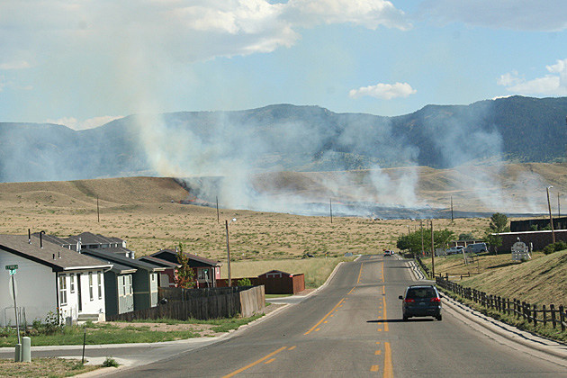 Casper Grass Fire