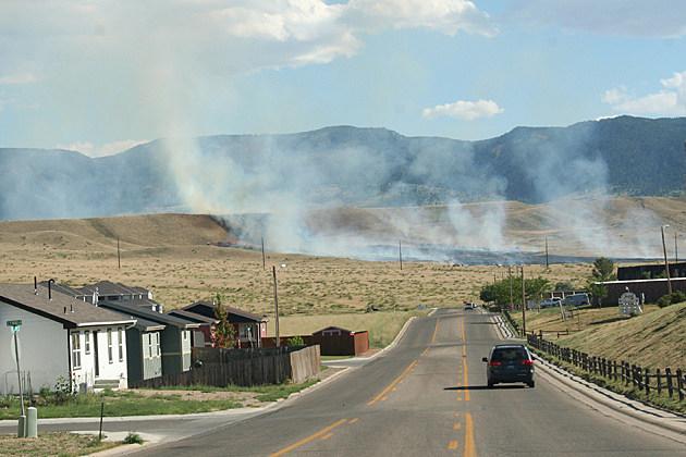 Casper Grass Fire