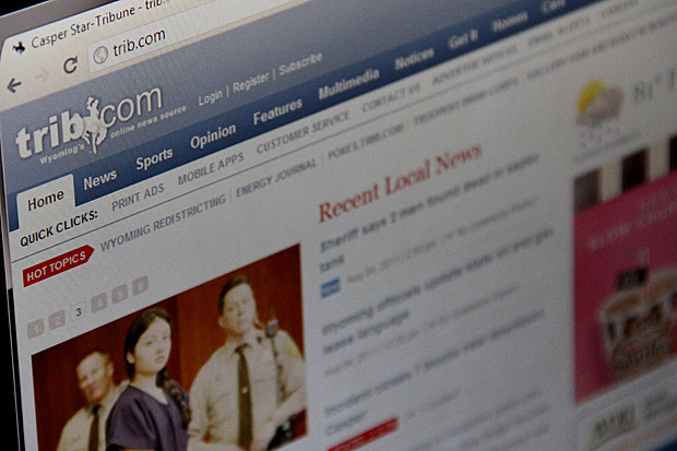 Casper Star-Tribune Now Charging for Online News