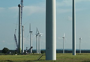 Wind turbines, Sean Gallup, Getty Images