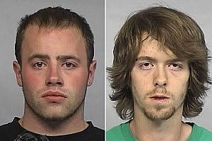 Donald Hensley and Brenton Livermore - Photos Courtesy: Casper Police Dept.