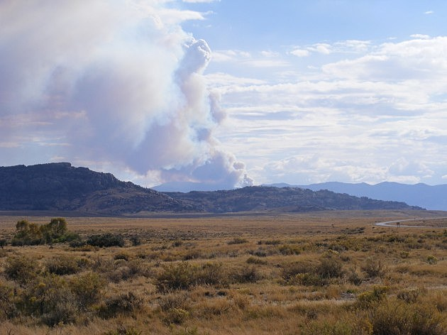 Ferris Mountain wildfire