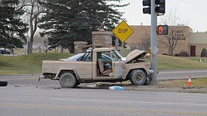 13th and Wyoming Blvd. Crash