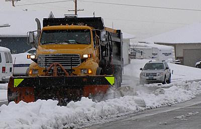 Casper, Wyoming Snow Plow