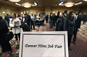 Job seekers, December 5, 2011, John Moore, Getty Images