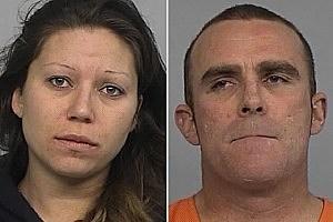 Jennifer Cromwell and Kirk Steffey - Photos Courtesy: Casper Police Dept.