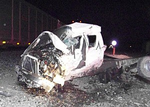 01.12 truck hit by train, Sweetwater County Sheriff's Office