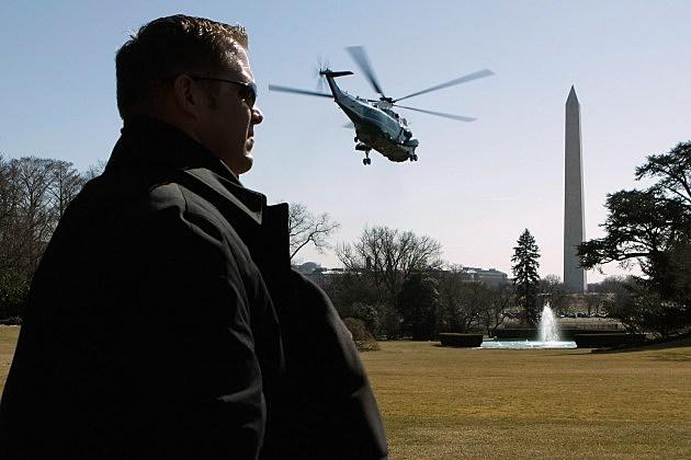 President Obama Departs White House