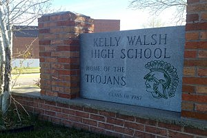 Kelly Walsh High School in Casper