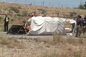 Covered Wagon Crash 5