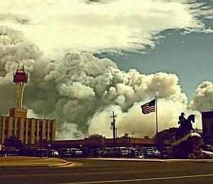 Casper Mountain Fire Photos on Instagram
