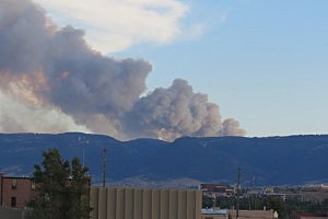 Casper Mountain Fire 2012