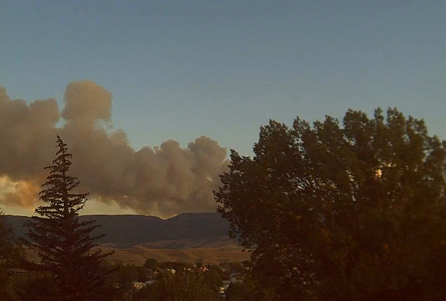 Sheep Herder Hill Fire Time-Lapse Video