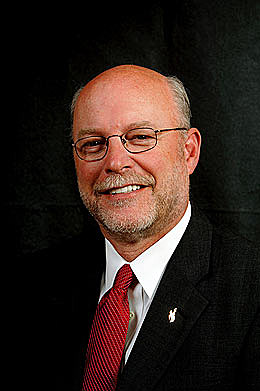 University of Wyoming President tom Buchanan