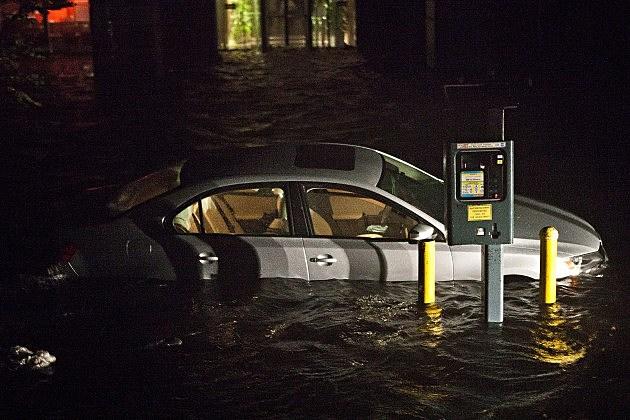 Hurricane Sandy Hits the East Coast