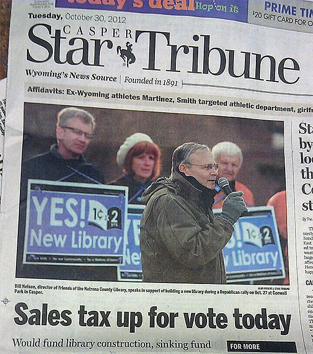 Casper Star Tribune Prints Wrong Election Date