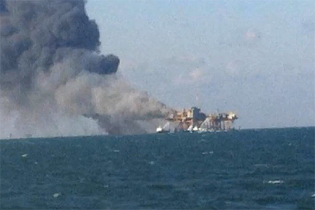 Gulf of Mexico Oil Rig Explosion