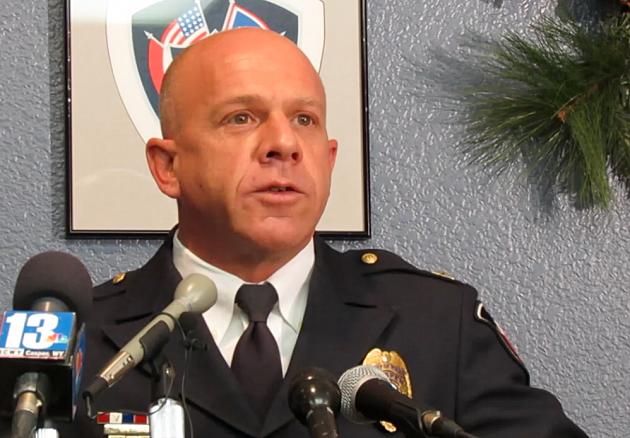 Casper Police Chief Chris Walsh