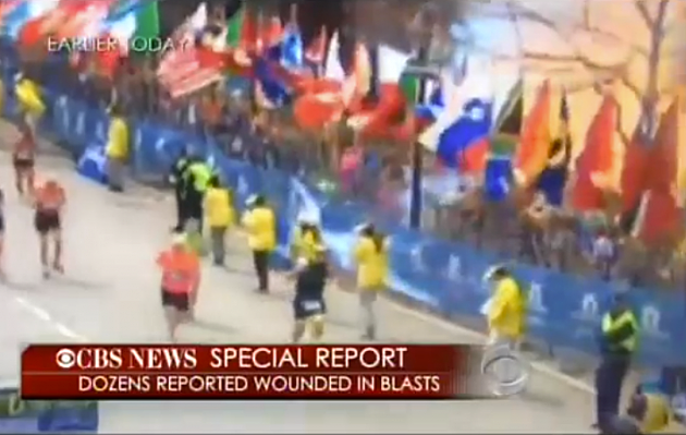 Boston Marathon Explosion Video