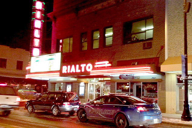 Rialto movie theater.  Casper, Wyoming