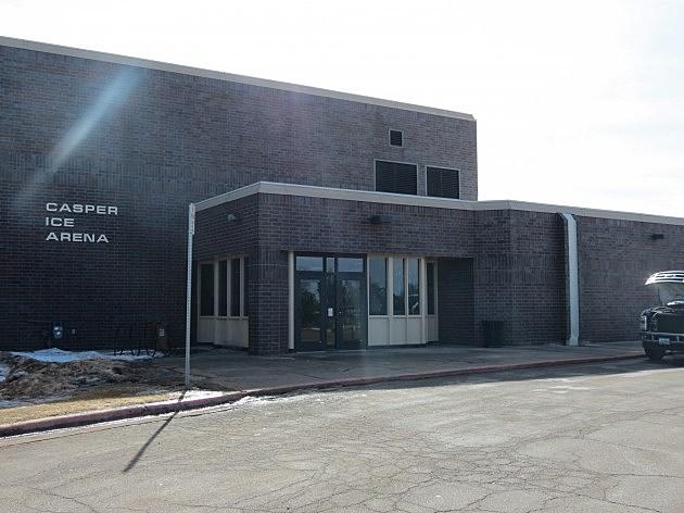 Casper Ice Arena exterior - Anthony Pollreisz, K2 Radio