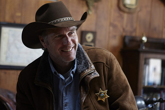 Robert Taylor as Sheriff Walt Longmire in A&E's Longmire