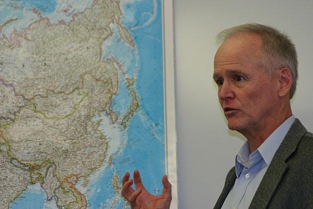 U.W. guest scholar Marc Wall