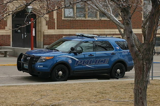 Police at Natrona County High School