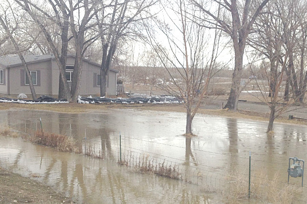 Flooding in Big Horn County, March
