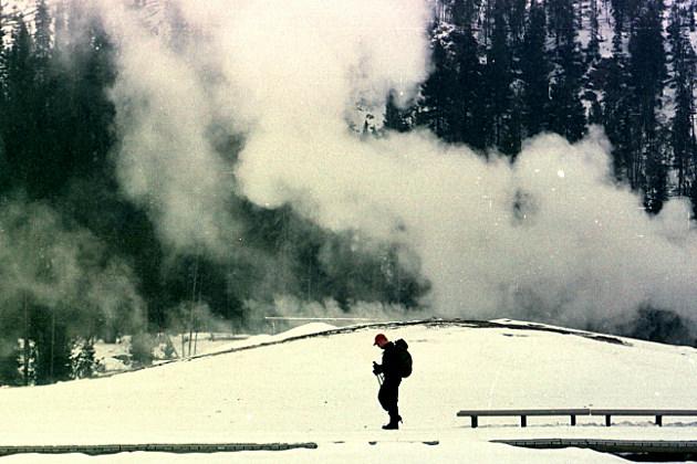Yellowstone in Winter Time