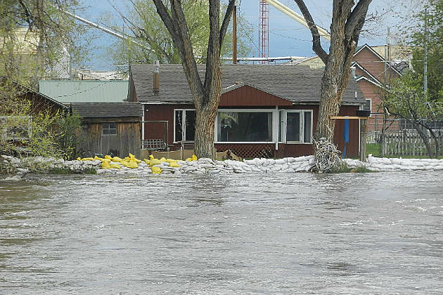 Saratoga North Platte River Flood 2014