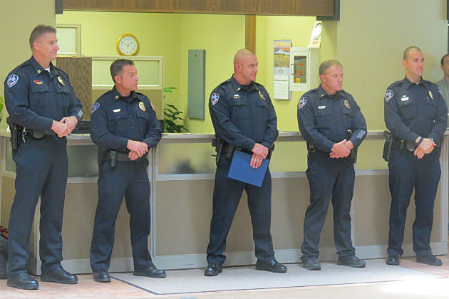 Casper Police Officers Promoted