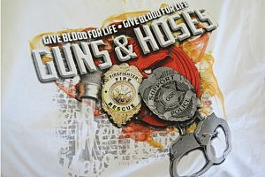 Guns 'N Hoses Blood Drive Logo