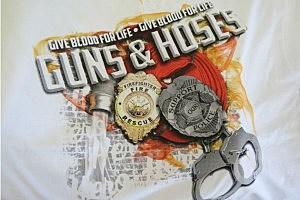 Guns 'N Hoses Blood Drive Logo