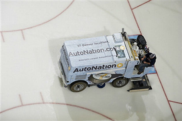 Event center ice floor construction begins for Floor zamboni
