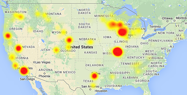charter communications down throughout casper Charter Outage Map Michigan Charter Outage Map Michigan #10 charter outage map michigan