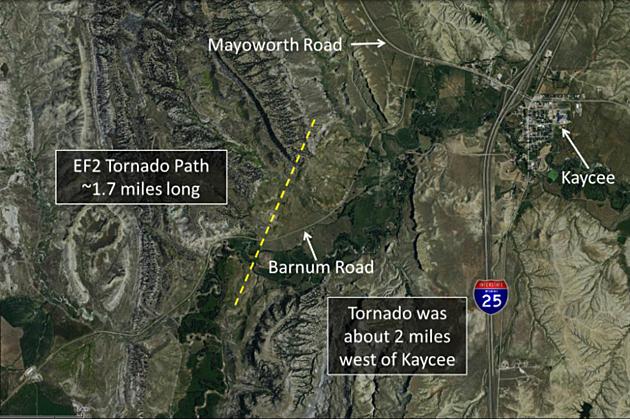 Kaycee tornado