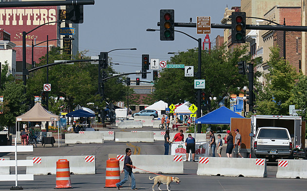 Looking west on East Second Street on Friday morning. Tom Morton, Townsquare Media