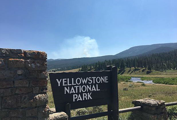 Bacon Rind Fire Forces Closures Of Some Yellowstone Park Trails | KGAB